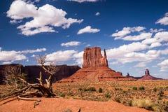 Natur ` s Künstlertum am Monument-Tal Stockfotografie