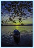 Natur, See, Sonnenaufgang, Sonnenuntergang, Meer, Landschaft, stockfotografie