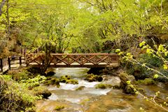 Natur in Serbien Lizenzfreies Stockbild