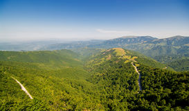 Natur in Serbien Stara Planina lizenzfreies stockbild