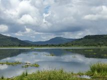 Natur sjö Royaltyfria Bilder