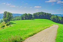 Natur in Turbenthal von Winterthur in Zürich-Bezirk von der Schweiz Stockbilder