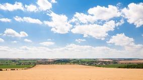 Natur und Landwirtschaft in den ländlichen Gebieten Stockbild