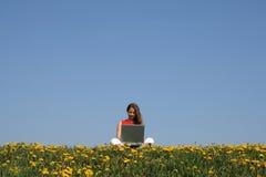 Natur und Technologie Lizenzfreie Stockfotos