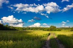 Natur und Zivilisation lizenzfreies stockbild