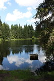 Natur von Sumava bei Süd- West-Böhmen Stockfotos