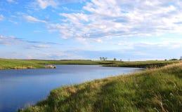 Natur y río Imagenes de archivo