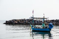 Natur zum Meer lizenzfreie stockfotografie