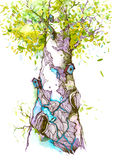 Natura ilustracja wektor