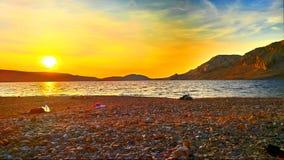 海Natura  免版税库存图片