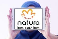 Natura beauty care company logo. Logo of natura beauty care company on samsung tablet holded by arab muslim woman royalty free stock photo