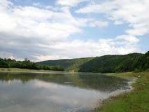 Natura blisko Dnister rzeki obrazy stock