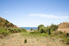 Natura blu Fotografia Stock Libera da Diritti