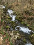 Natura. Cascada biger romania wather fall Royalty Free Stock Photos