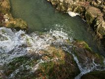 Natura. Cascada biger romania wather fall Stock Image
