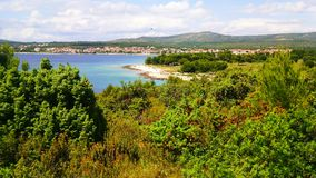 Natura croata Fotografie Stock Libere da Diritti