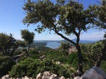 Natura Croazia fotografie stock libere da diritti