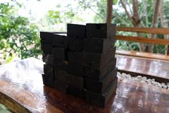 Natura czarny heban zdjęcia stock