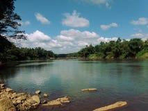 Natura del fiume di Kalani Immagine Stock