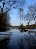 Natura del ghiaccio di inverno Fotografia Stock Libera da Diritti