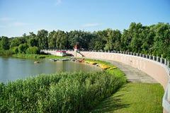 Natura dell'Ucraina Località di soggiorno di Myrgorod immagine stock