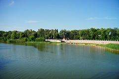 Natura dell'Ucraina Località di soggiorno di Myrgorod immagini stock