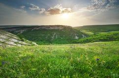 Natura della montagna Immagini Stock Libere da Diritti