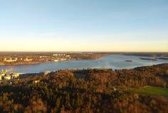 Natura della Scandinavia fotografia stock libera da diritti