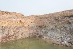 Natura della sezione del suolo immagine stock