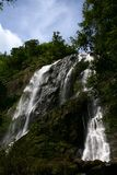 Natura delle cascate di paesaggio Immagini Stock