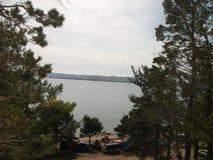 Natura di grande lago Baikal fotografie stock libere da diritti