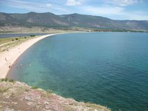 Natura di grande lago Baikal immagine stock libera da diritti