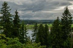 Natura di Ladoga fotografia stock