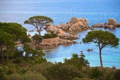 Natura di magia della Corsica Fotografia Stock Libera da Diritti