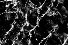 Natura di marmo nera del modello di struttura della pietra del fondo con l'alta risoluzione Fotografia Stock