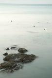 Natura di vista sul mare in Tailandia Immagine Stock