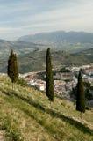 Natura e città spagnola di Jaen Immagine Stock Libera da Diritti