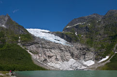 Natura e quiet in Norvegia Immagine Stock Libera da Diritti