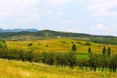 Natura e villaggio della campagna fotografie stock libere da diritti