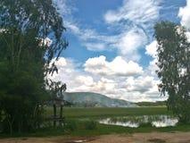 Natura i chmury obraz royalty free