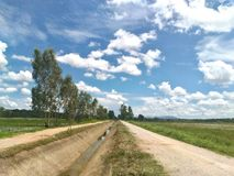Natura i chmury obrazy royalty free