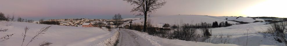 Natura in inverno Fotografie Stock
