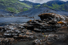 Natura islandese Immagini Stock Libere da Diritti