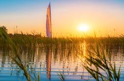 Natura jezioro Obrazy Stock