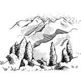Natura Kirgistan Zdjęcie Stock