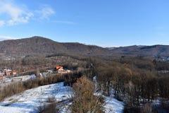 Natura krajobraz - góra Zdjęcia Royalty Free
