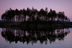 natura krajobrazowy zmierzch Fotografia Royalty Free