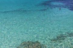 Natura krajobrazy w Menorca wyspie, Hiszpania Śródziemnomorski raj Podróż Europa zaniki Zdjęcie Stock