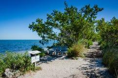 Natura ślad Floryda - Biscayne park narodowy - Obrazy Royalty Free