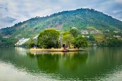 Natura Landcspae del lago Fotografie Stock Libere da Diritti